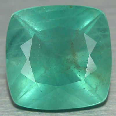 11.970 Ct Genuine Natural Ultra Rare Nice Wow Fine Green Color Fluorite Unheated