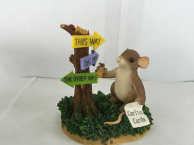 Charming Tails I'll Find My Way To You Fitz And Floyd Special Ed Figurine