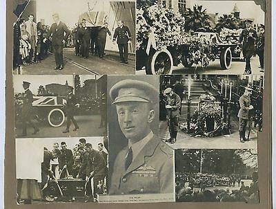 1922 Album Page 6 Photographs Sir Ross Smith's Funeral Adelaide South Aust A10