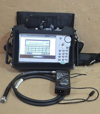 Anritsu S331L SiteMaster Cable/Antenna Analyzer w/ 15NNF50-1.5C Armored Cable