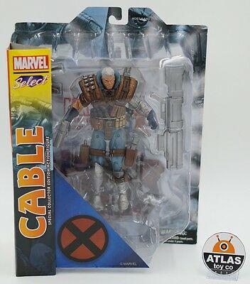 Cable Marvel Select Action Figure 7-inch X-Men IN HAND