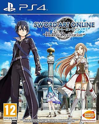 Sword Art Online Hollow Realization Playstation 4 (PS4) Game Brand New In Stock