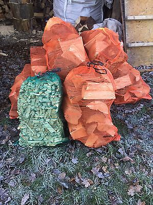 Logs For Sale Nets 10 + 1 Free Bag Of Kindling