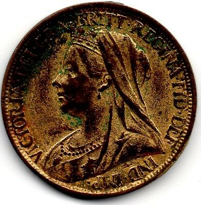 Victorian Farthing 1900