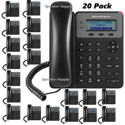 MAKE OFFER! 20 Grandstream GXP1610 VoIP IP Phone 3 Way Conferencing 1 SIP 2 Call
