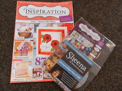 Crafters Inspiration Mag 7. FREE Printables CD Rom Scruffy Kitten & Sheena CD Ro