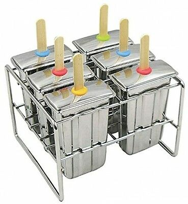 Onyx Stainless Steel Popsicle Mold