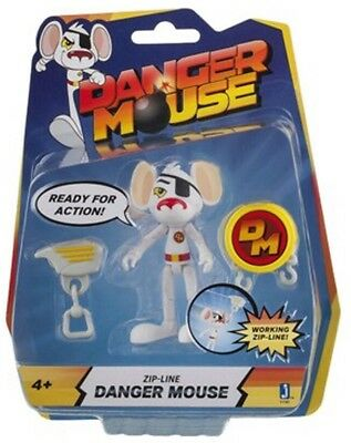 Danger Mouse Zip-Line - Action Figure - New in Packaging