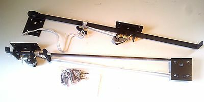 "TIMBER WOODEN GARAGE DOOR HOLD OPEN STAYS 24"" WIDE Lintel 1013"