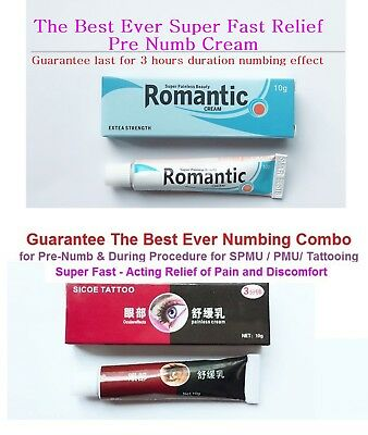 "Super Fast Numbing Cream ""longest duration of effect lasts for 3 hours"""