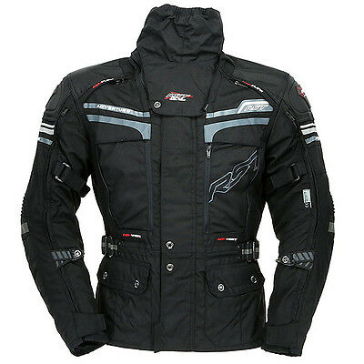 RST Pro Series Adventure 2 Waterproof Textile Touring Motorcycle Jacket - Black