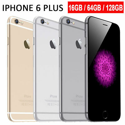 Apple iPhone 6 PLUS 6 5S 4S Space Gray Gold Silver UNLOCKED 16GB OO55
