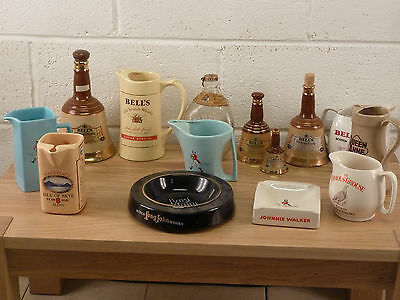 large set of whisky collectables.(EB-2-247)