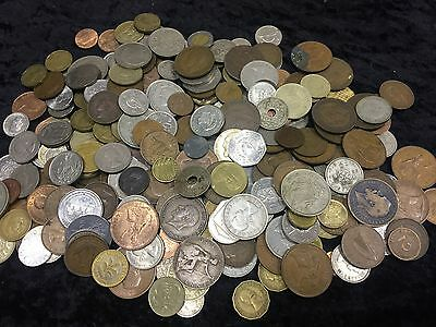1.7KG Coin collection ,unsorted GB&World coins See Pictures