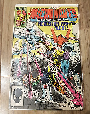Marvel comics The Mirconauts x3