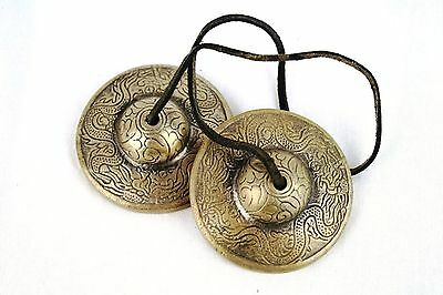 Quality Tingsha/Bell Dragon Cymbals Meditation/Healing/Aura/Cleansing/Protection
