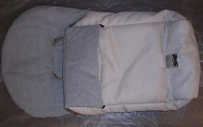 """REDUCED PRICE Deluxe Footmuff - """"Vanilla"""", for Bebecar Pushchair"""
