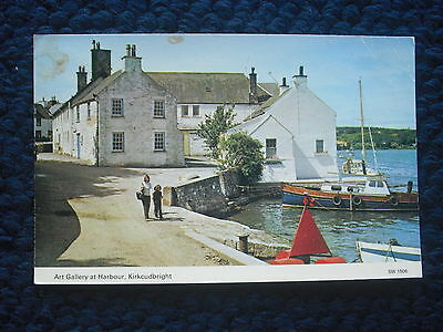 Postcard Art Gallery At Harbour, Kirkcudbright, Scotland 1984