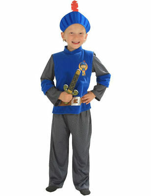 Mike The Knight Fancy Dress Costume 3/5 Years Crusader & Sword - Missing Hat