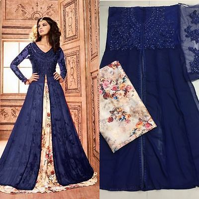 Bollywood Anarkali Salwar Kameez Indian Pakistani Designer Ethnic Dress  710