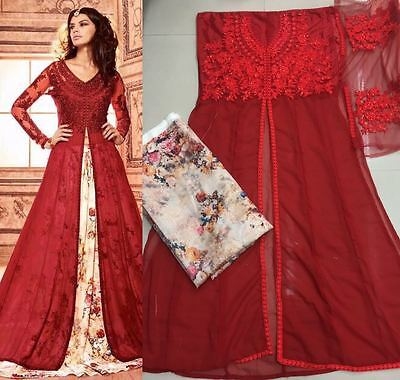 Bollywood Anarkali Salwar Kameez Indian Pakistani Designer Ethnic Dress  713