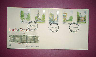 GB First Day cover - 1980 -London Scenes