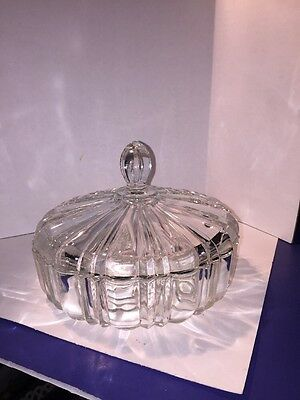 Vintage Westmoreland Glass Candy Dish With Lid