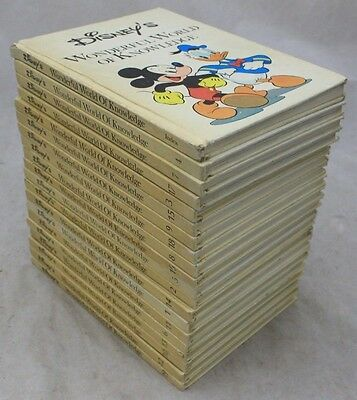 Vintage Collection of 19 WALT DISNEY'S WONDERFUL WORLD OF KNOWLEDGE 1970's - 226