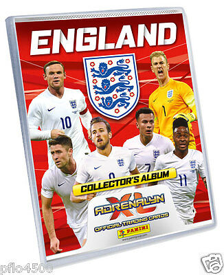England 2016 Adrenalyn Xl Trading Card Collection Complete Set Of 126 Brand New
