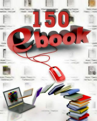 BEST 150 E BOOKS COLLECTION - PDF E Books With Resell Rights (Free Shipping)