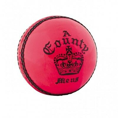 Readers Grade A Match Pink County Crown Cricket Ball