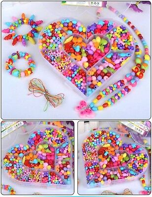 Candy Series DIY Craft Beads Kit for Girls Kids Birthday Gift Educational Toy
