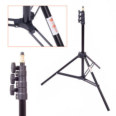 Photo Studio Light Stand -2.3m | LuxLight JH-1800 | Air Cushioned Tripod Video