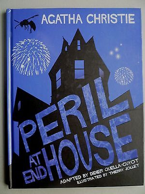 Agatha Christie Graphic Novel - Peril At End House - Hardback - Thierry Jollet