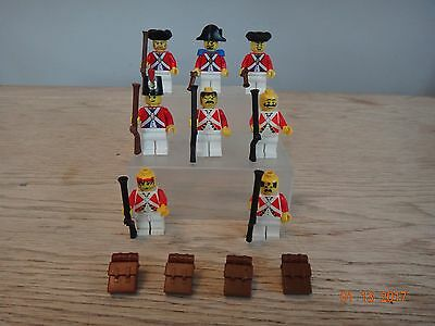 Lego Mini Figures Red Coats Soldiers,pirate Lego