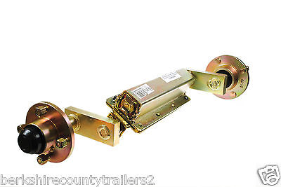 "Knott Avonride Trailer Suspension Unit Unbraked with Hubs 4"" PCD 750kg (Pair)"