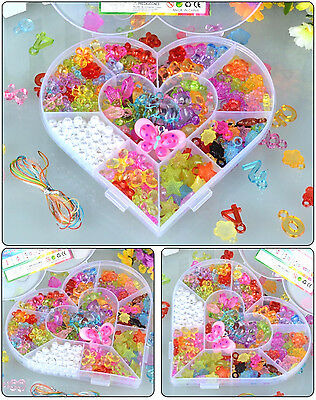 Crystal Series DIY Craft Beads Kit for Girls Kids Birthday Gift Educational Toy