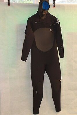 Xcel Infiniti Hooded 6/5/4Mm Wetsuit Size L/s Rrp £340
