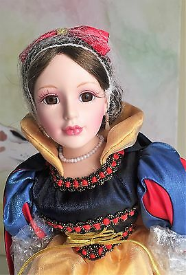 Beautiful Porcelain Doll - Snow White (New In Box!)