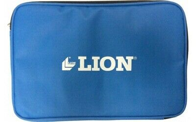 Lion Table Tennis Bat Case Cover With 3 Ball Zip Pocket