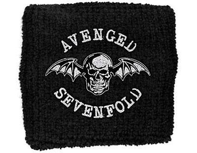 Official Licensed - Avenged Sevenfold - Death Bat Sweatband/wristband