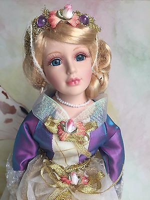 Stunning Porcelain Doll - Sleeping Beauty (New In Box!)