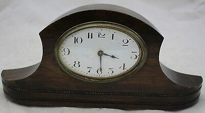 Vintage FRENCH Wooden Mantle Clock - 218