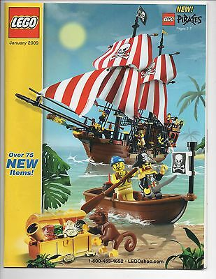 Lego January 2009 Catalog, New Pirates