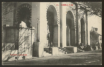 Gibraltar. The English Cathedral - Vintage Printed Postcard