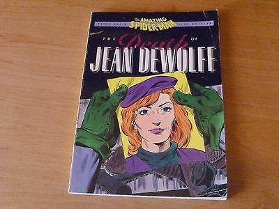 Marvel The Amazing Spider-Man , The Death of Jean DeWolff  Graphic Novel