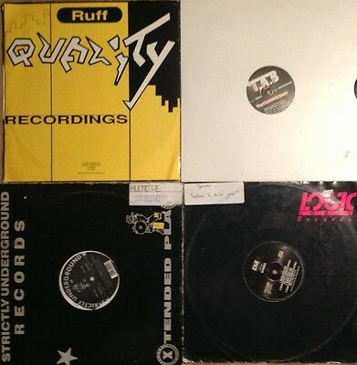 4 Old School House/techno Rave Records.