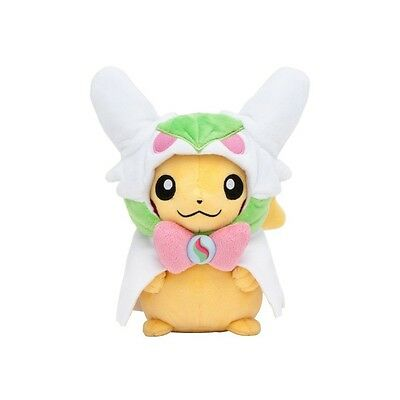 Officiel Pokemon Center Peluche Plush Poncho Mega Gardevoir Pikachu