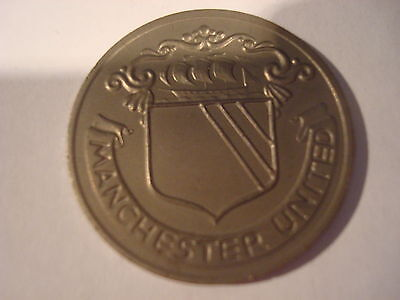 Manchester United - Fa Cup Centenary - Esso Coin/medal - Ex Condition