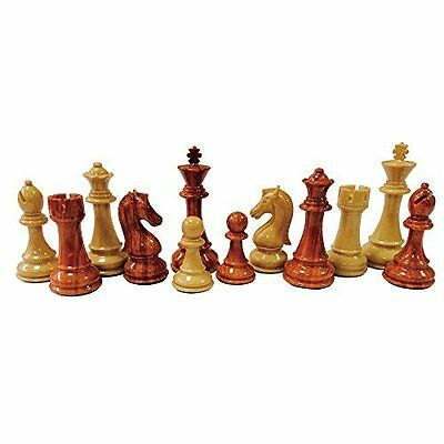 """Nero Polymer Extra Heavy Chess Set w/ Extra Queens 4.25"""" King"""